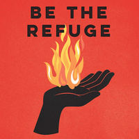 Be the Refuge Book Art