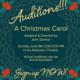 Auditions! A Christmas Carol