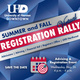 Summer & Fall Virtual Registration Rally - Advising & Registration Event on Wednesday, May 26 from 4pm-6pm