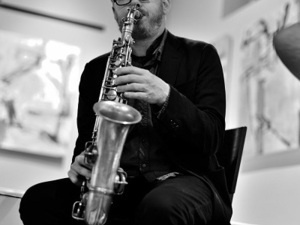 Brad Linde Solo Saxophone Live Streaming + In-person Concert