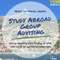 Summer Study Abroad Virtual Group Advising