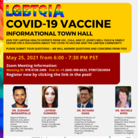 For the LGBTQIA Community: COVID-19 and the Vaccine