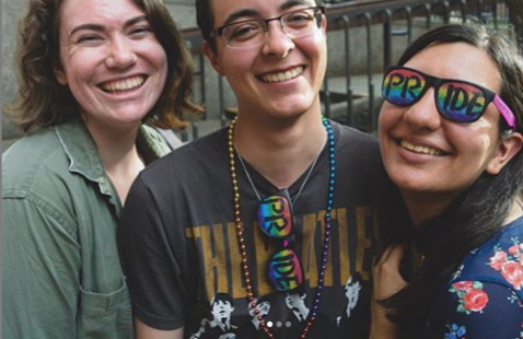 ISS Hangout Space: Gender Equity & Pride