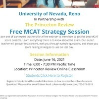 The Princeton Review MCAT Strategy Session