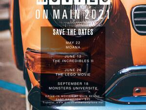 Movies On Main Beach East Hampton Drive-In