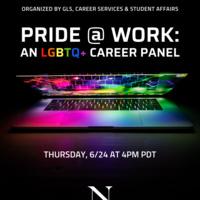Pride @ Work: An LGBTQ+ Career Panel