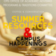 Coffee and Conversation: Summer Resources and Campus Happenings