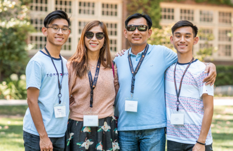 Family Member Monday: Life on Campus and Living in Stockton