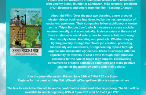 Seeding Change: A Panel Discussion