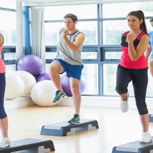 Zumba Step Fitness Class