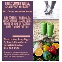 Free Summer Series:  Challenge Yourself to Eat Smart and Move More