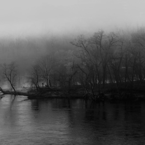 James River Fog II, 2021, archival pigment print on Museo silver rag paper, 40 x 60 inches