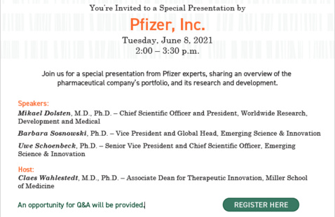 Pfizer, Inc. Special Presentation
