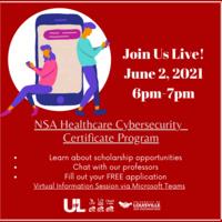Virtual Info Session: NSA Healthcare Cybersecurity Program