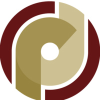 """Office of Research Development Logo: Overlapping gold """"r"""" and """"d"""" within a garnet """"O"""""""