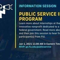 FIU in DC: Public Service Internship Program Information Session