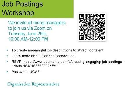 Talent Acquisition presents: Developing Impactful Job Descriptions Workshop