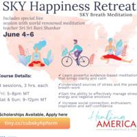 SKY Happiness Retreat Flyer