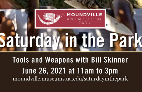 Saturday in the Park: Tools and Weapons with Bill Skinner
