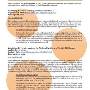 ASCEND 2021 Summer Health Science Writing Workshop