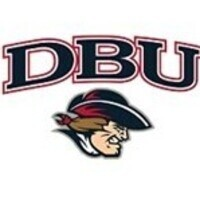 DBU. There is a cartoon image of the DBU patriot at the bottom of this image.