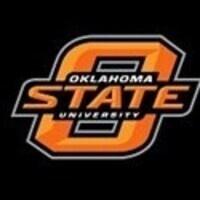 Oklahoma State University. This is the OSU logo in orange.
