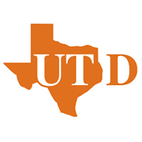 UT D With an orange Texas that the UT are inside of.