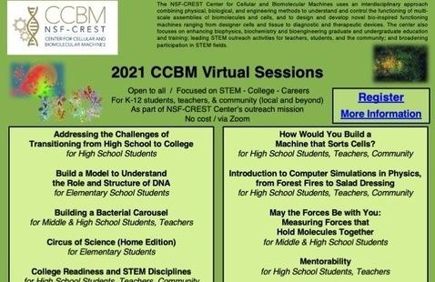 2021 CCBM Virtual Sessions