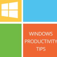 Windows Productivity Tips