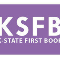 Logo with text K-State First Book
