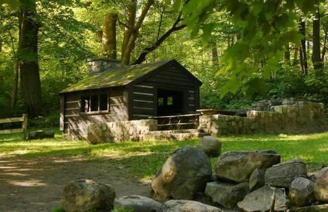 Spring Shelter, Pokagon State Park