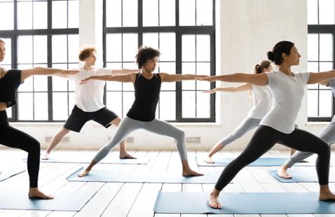 Young Alumni Yoga and Mocktails
