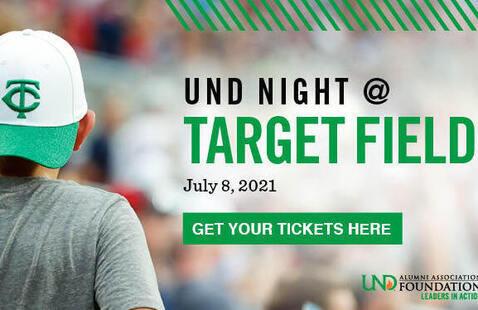 UND Night at Target Field