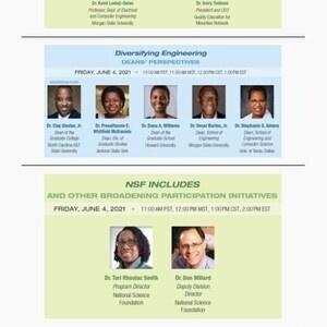 NSF INCLUDES Workshop Increasing the Representation of Minorities in Engineering Day Three