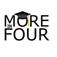 More in Four logo