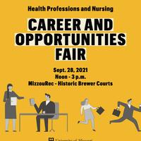 MU Health Professions & Nursing Career & Opportunities Fair (in person)