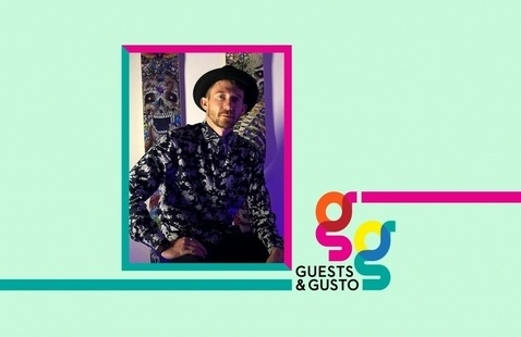Create vector stickers in Illustrator with Abbadon Skateboards' Joe Regan on 'Guests and Gusto'