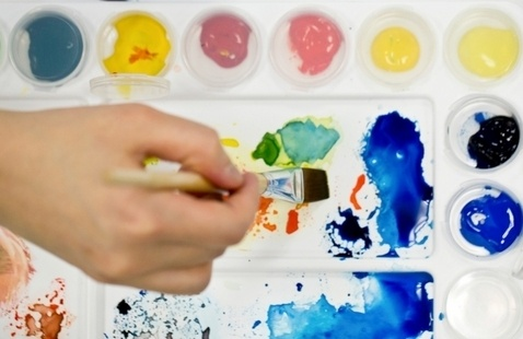 See your future in color at SCAD eLearning painting program virtual chat