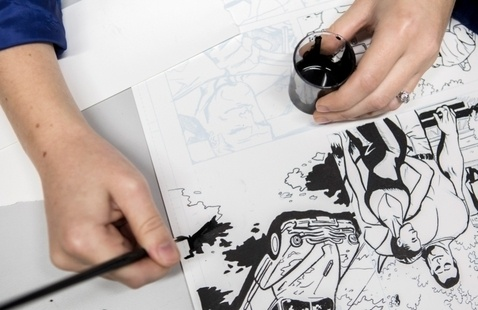 Sketch the series to your creative career with SCAD eLearning sequential art virtual chat