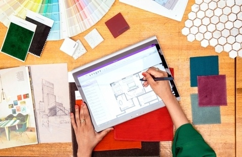 Pursue new levels of interior design at SCAD eLearning virtual chat for graduate programs