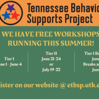 TN Behavior Supports Project Breaks are Better Virtual Workshop