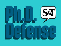 Final Ph.D. Defense for Yue Zhou, Materials Science and Engineering