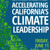 LABC's 15th Annual Sustainability Summit: Accelerating California's Climate Leadership – 11 June 2021