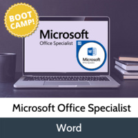 Earn your Microsoft Office Word Specialist Certification