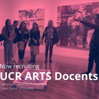 UCR ARTS Docent Interest Meeting