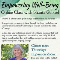 Online Class: Empowering Well-Being