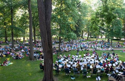 Concert Under the Elms