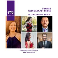 Summer Rebroadcast Series: Dr. Cecilia Kao, piano