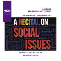 Summer Rebroadcast Series: Dr. James Rodriguez Studio Recital