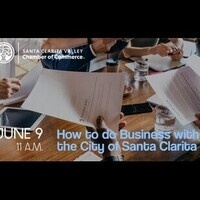 SCV Chamber: How to Do Business with the City of Santa Clarita